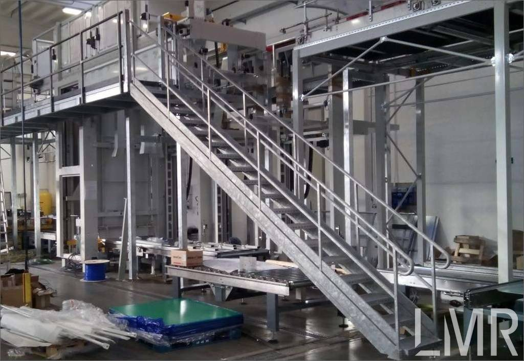 hot deep galvanized mezzanine